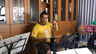 聚保堂二胡教學 陳文保老師-推拉弓平衡練習