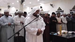 الشيخ المقرئ موسى سالم اللقماني   صلاة الصبح بمعهد رياض الصالحين