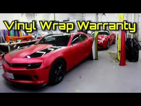 What Warranty Do I Provide For My Vinyl Wraps?