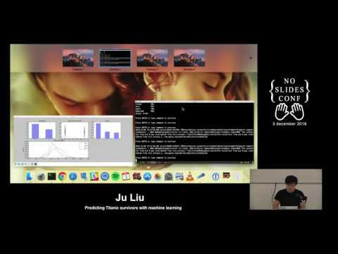 Predicting Titanic survivors with machine learning - Ju Liu