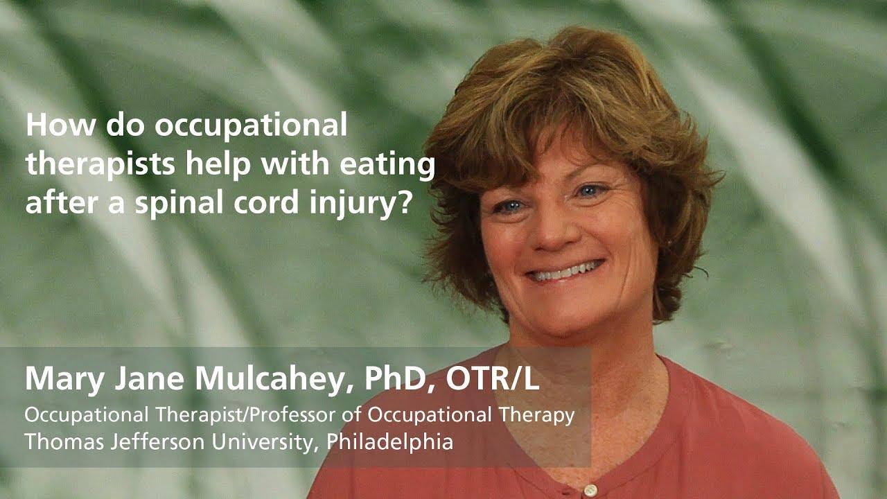 Mary Jane Mulcahy, PhD, OTR/L: How do occupational ...