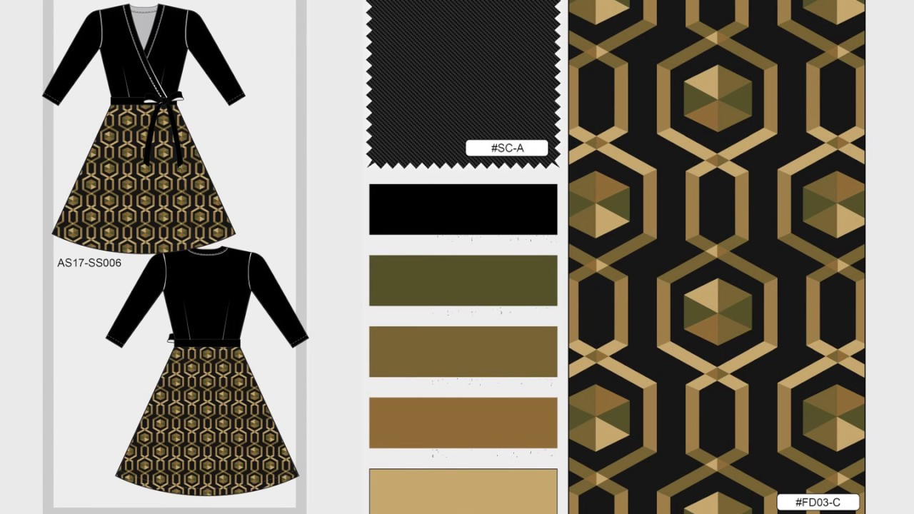 fashion design textile and apparel design digital portfolio
