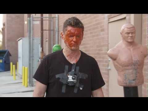Pepper Spray in Face - Self Defense Mythbusters test OC, Mace, CS Self Defense Sprays