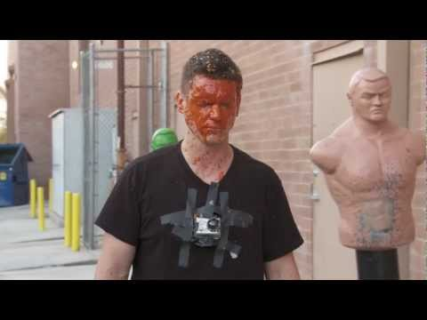 Pepper Spray in Face - Self Defense Mythbusters test OC, Mace, CS Self Defense Sprays