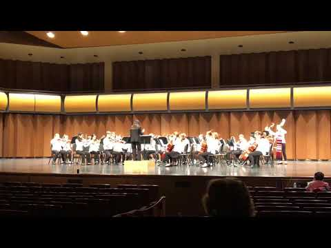 When Johnny Comes Marching Home 8th grade North Rockford Middle School district X MSBOA orchestra