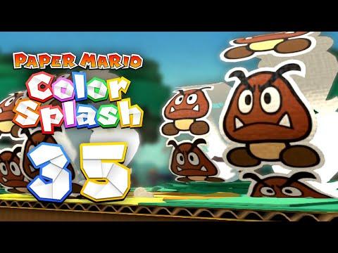 Paper Mario: Color Splash - 35 - CARD GOOMBAS ON MOTORCYCLES
