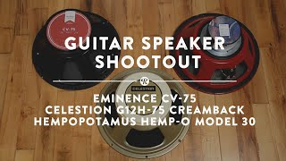 "12"" Guitar Speaker Shootout | Reverb Demo Video"