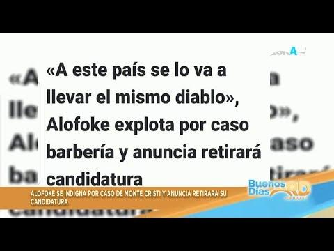 Santiago Matias explota por caso barbería en Villa Vasquez, dice retirarâ su candidatura a diputad