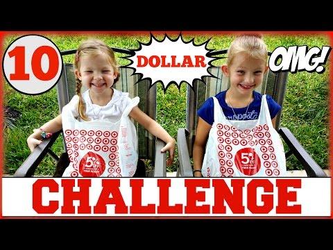 SUPRISE TOYS -10 DOLLAR TOY CHALLENGE !