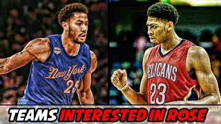 Teams Interested in Trading For Derrick Rose   Pelicans to Make Moves?