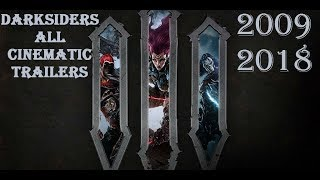 Darksiders All Cinematic Trailers (2009 - 2018)