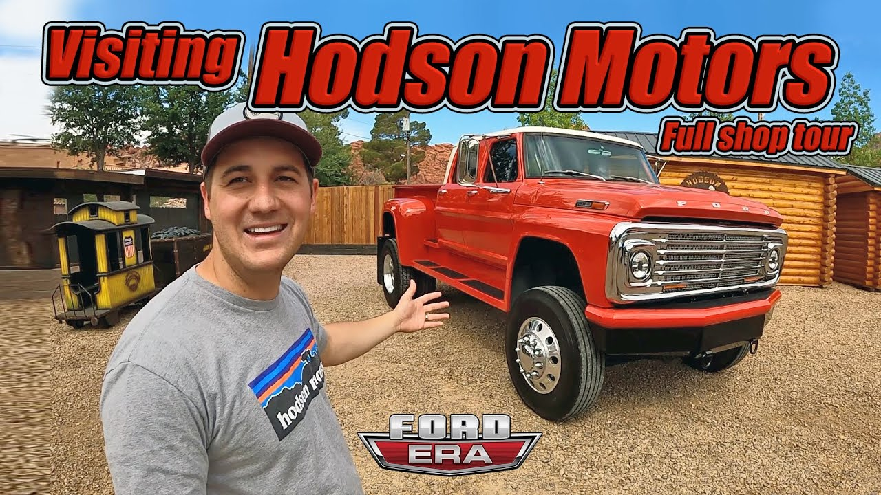 Download Visiting Hodson Motors Compound!! Full Truck & Shop Tour | Ford Era