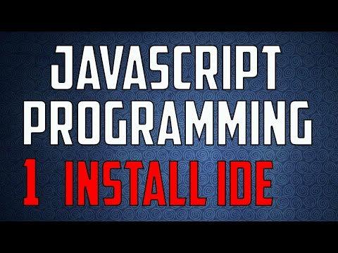 Javascript Programming 1 Installing Visual Studio Code