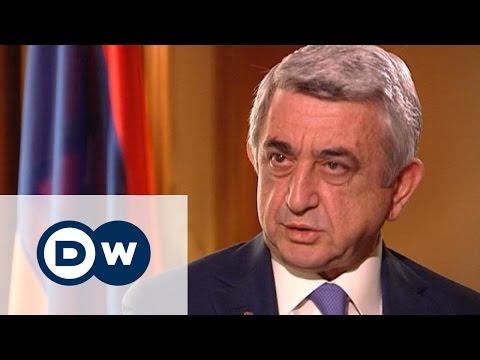 Президент Армении о конфликте в Нагорном Карабахе