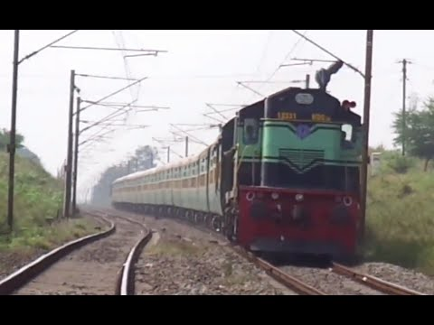 51 in 1 Compilation of High Speed Trains of Indian Railways in Full HD