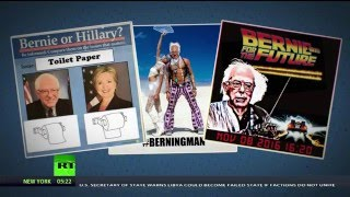 'Hotties feel the Bern'? Sanders lovers campaign on Tinder, get own dating site