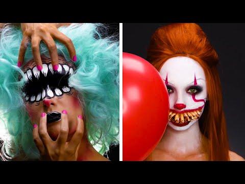 If You've Got It, Haunt It! Halloween Makeup Ideas | Halloween Makeup Hacks by Blossom