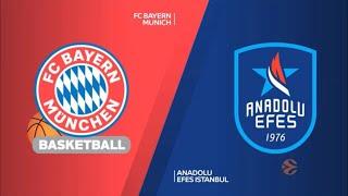 EuroLeague 30. Hafta Bayern Münih - Anadolu Efes