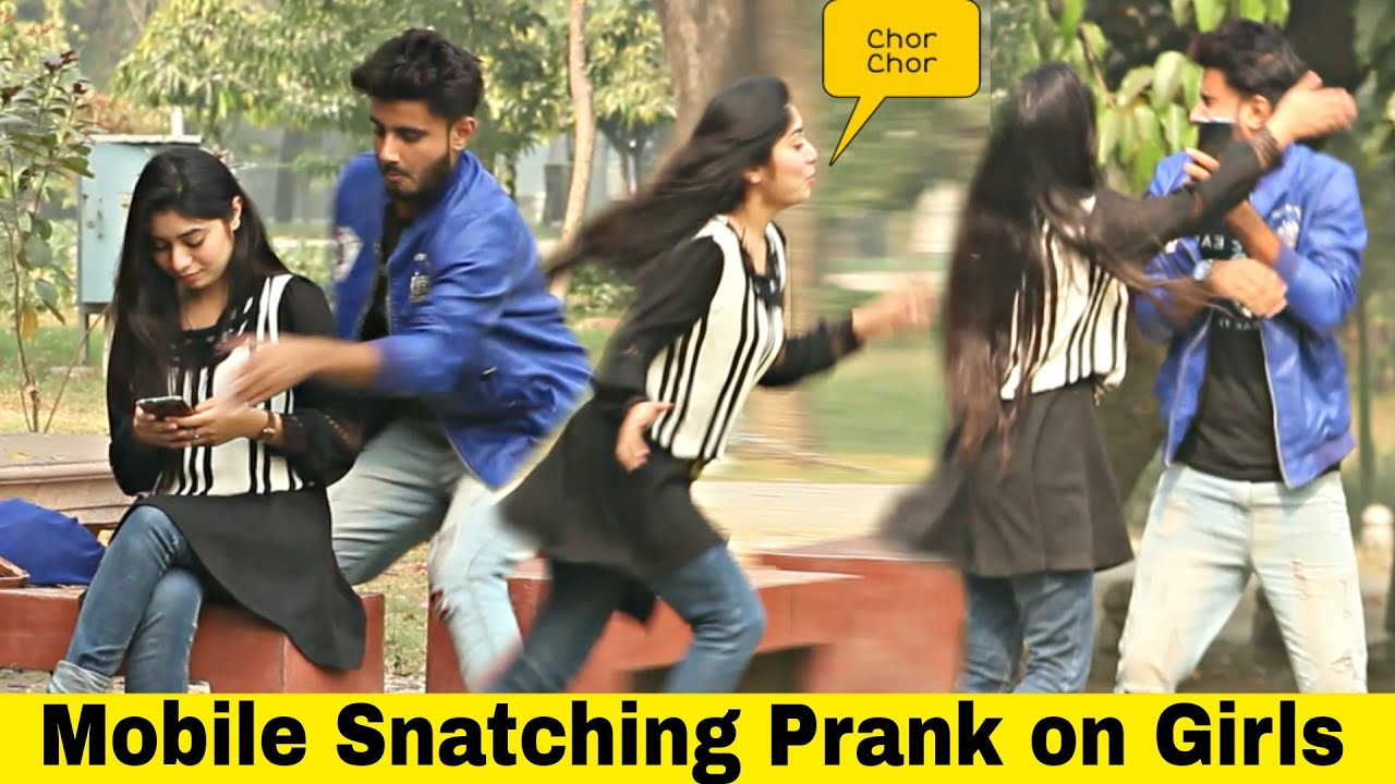 MOBILE CHOR PRANK ON GIRL | PRANK IN PAKISTAN @That Was Crazy