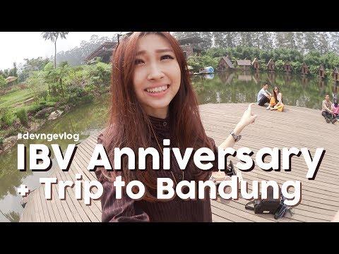 DEV NGEVLOG ♡ IndoBeautyVlogger Anniv & Trip to Bandung