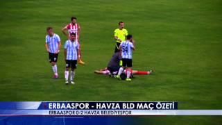Erbaaspor 0-2 Havza Belediyespor Maç Özeti