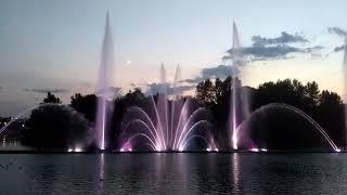 Винницкие фонтаны.