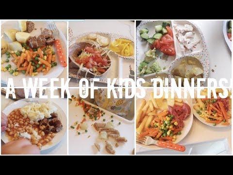 A WEEK OF KIDS DINNERS! | HEALTHY KID MEAL IDEAS | KERRY CONWAY