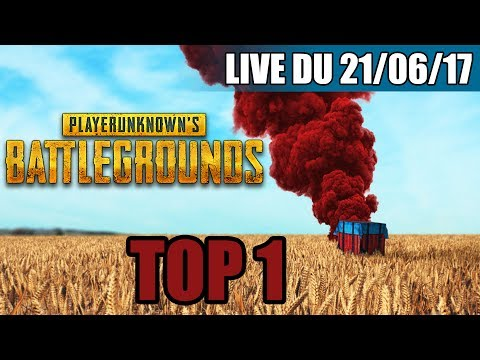 VOD ►PUBG FIRST GAME TOP 1 - LIVE DU 20/06/2017 HD
