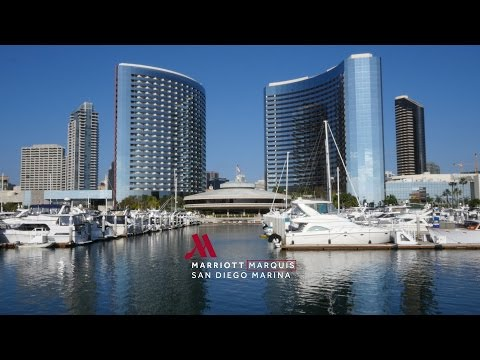 Experience the Marriott Marquis San Diego Marina
