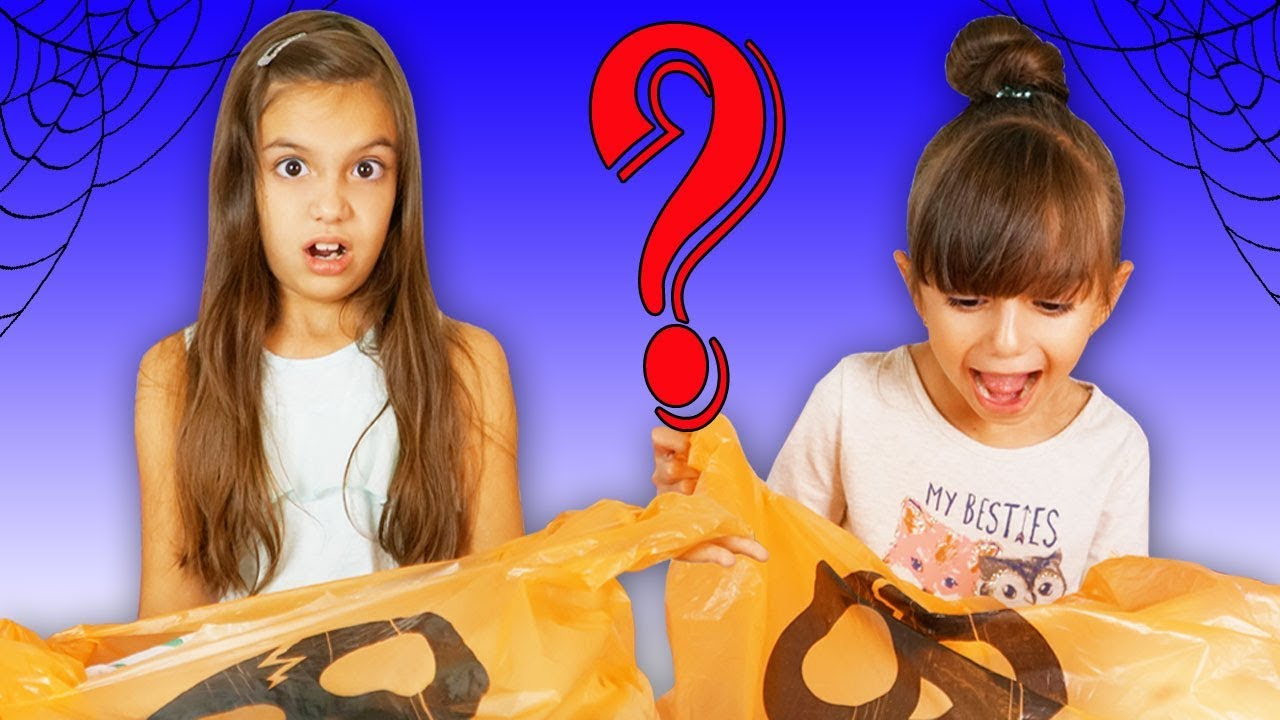 Sisters Buy Each Other Halloween Costumes - Trick or Treat Shopping Challenge