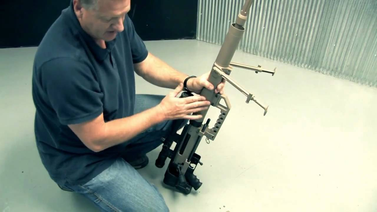 Caliber conversion for the Cheytac M200 Intervention