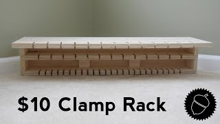 How to Make the Ultimate Clamp Rack for only $10.00!