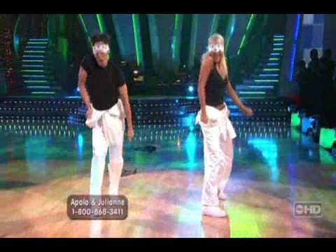 Dancing with the Stars  Apolo and Julianne Freestyle