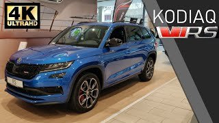 2019 ŠKODA KODIAQ RS (vRS) Walkaround Review (4K)