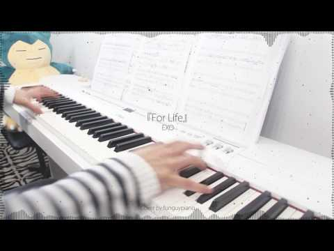 EXO - For Life [Winter Special Album] - piano cover w/ sheet music