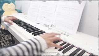 EXO - For Life [Winter Special Album] - piano cover w/ sheet music