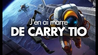 J'EN AI MARRE DE CARRY TIO.... - Ezreal ADC