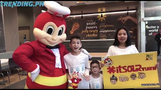 Jollibee Edmonton Grand Opening with Trending.ph Kids