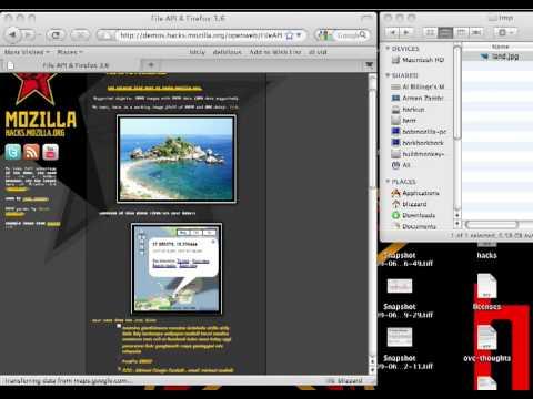 File API for Firefox 3.6 demo