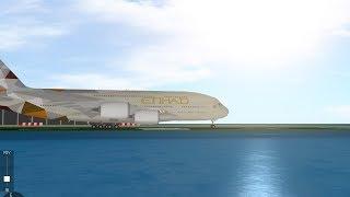VOL ETIHAD ROBLOX SFS A380!