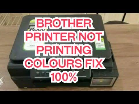 Brother printer not printing printhead cleaning mode (hindi) 100%