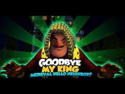 Где скачать Goodbye My King игра напоминает►Hello Neighbor