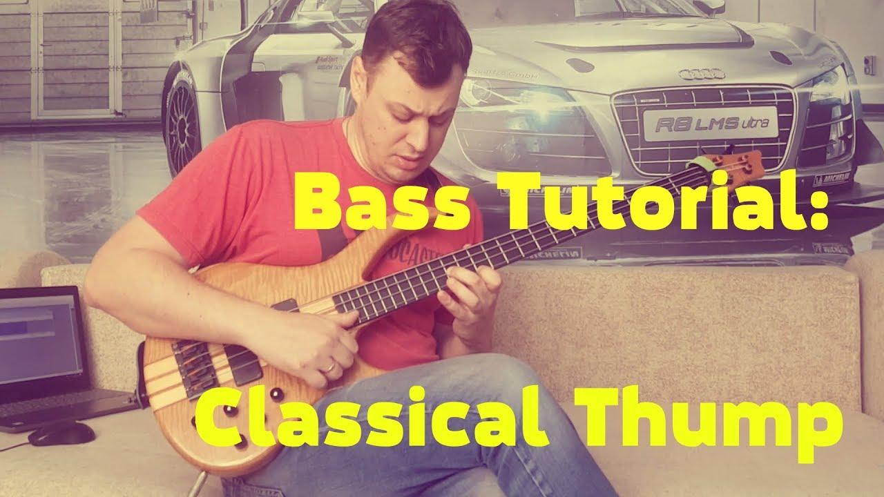 Bass Tutorial: Victor Wooten - Classical Thump