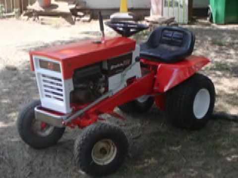 Simplicity 738 Garden Tractor