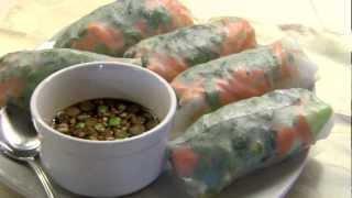 How To Make Delish Fresh Vegan Spring Rolls!!