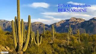 Bernardine  Nature & Naturaleza - Happy Birthday