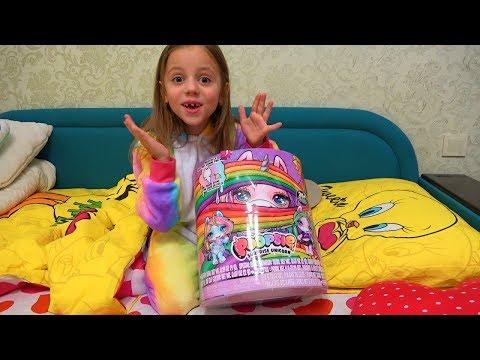 Что ПОДАРИЛА Зубная фея Насте Как сделать СЛАЙМ своими руками - Видео онлайн