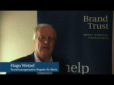 Hugo Wetzel, Tourismusorganisation Engadin St. Moritz, über die Zusammenarbeit mit BrandTrust