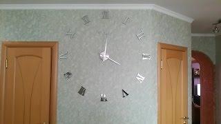 Очень большие и классные часы с Aliexpress. Very large clock with Aliexpress.(Покупал здесь Большие настенные часы http://ali.pub/53npq http://ali.pub/to3im Регистрируйс..., 2016-06-09T16:52:13.000Z)