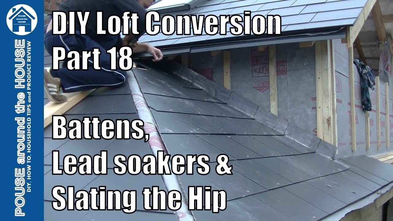 Loft Conversion Part 18 Fit Lead Soakers Batten Dormer